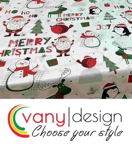 Спален комплект 100% памук - коледни десени - Vany Design 7