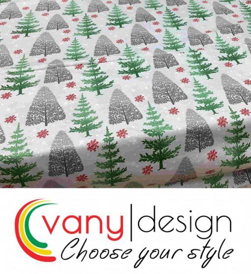Спален комплект 100% памук - коледни десени - Vany Design 8