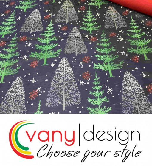 Спален комплект 100% памук - коледни десени - Vany Design 9
