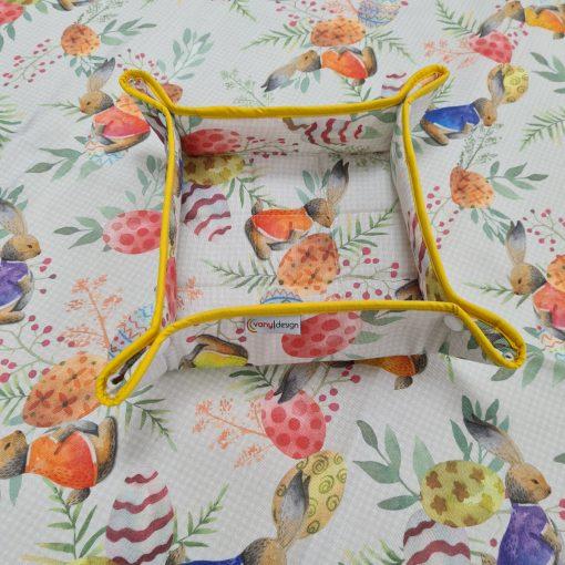 Квадратна покривка за маса Великден 19 Vany Design