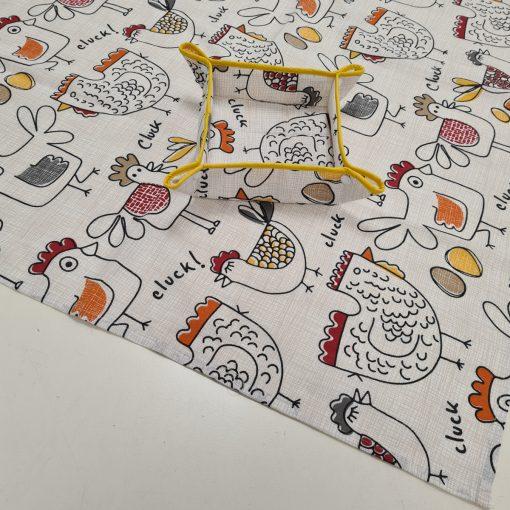 Правоъгълна покривка за маса Великден - Пиленца Vany Design
