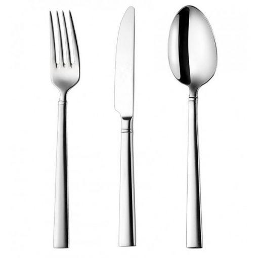 KARMA - комплект прибори за хранене - 65 части неръждаема стомана 18/10, 3мм дебелина-Vany Design
