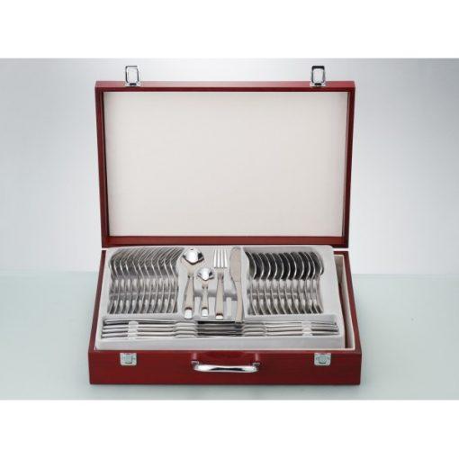 OSAKA - комплект прибори за хранене - 72 части неръждаема стомана 18/10, 3мм дебелина-Vany Design