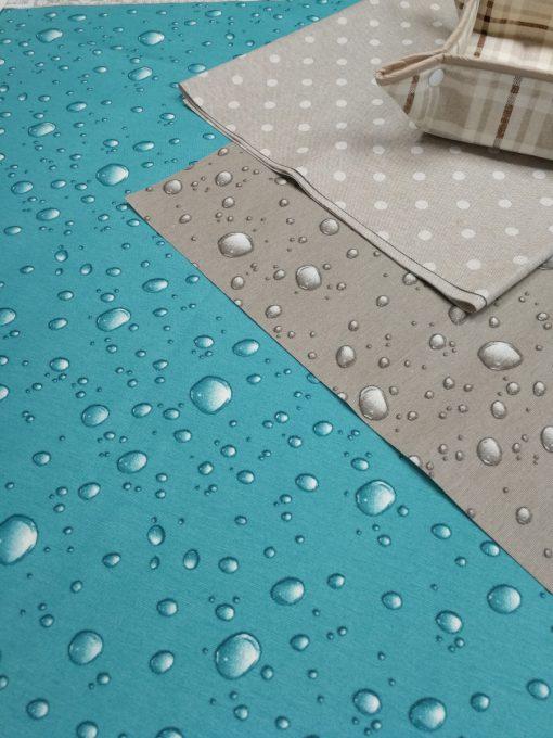 Правоъгълна покривка за маса 130/200 с хидрофобирано покритие  Vany Design