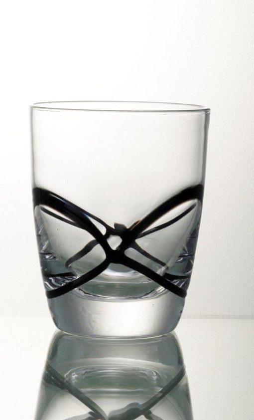 Комплект 6 чаши за уиски - 350 мл серия: X - tream Black