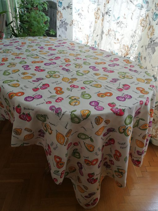Елипсовидна покривка за маса Коктейл от плодове Vany Design