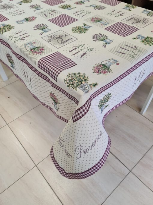 Арт колекция - Покривка за маса 140/180 - Лавандули