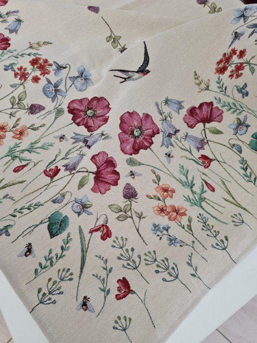 Арт колекция - Покривка за маса 140/180 - Лястовички