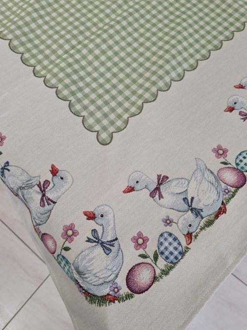 Арт колекция покривки за маса 140/180 Бяло пате