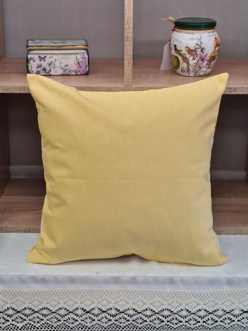 Калъфка за декоративна възглавница - Жълто Vany Design