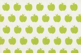 Плат Лонета 60% пам. / 40% пол - apples-pistacho-negativo